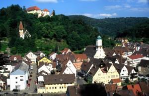 Neuenbürg Städtle u. Schlossberg