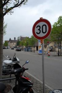 Ulmerstraße jetzt 30km