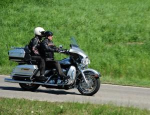 Maiausflügler-Motorrad