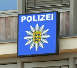 Polizei-BW-Schild