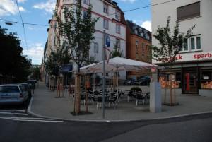 Platz ohne Namen an der Ostendstraße