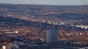 Stuttgart-Ost-vom-Kappelber