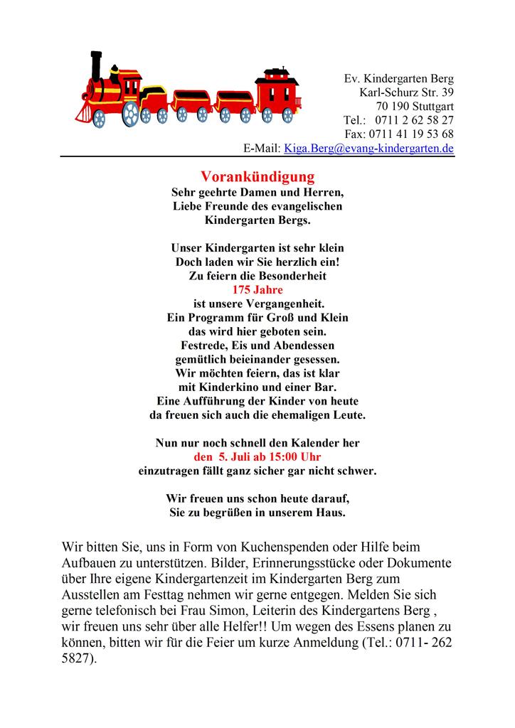 gablenberger-klaus-blog » blog archive » 175 jahre berger, Einladung