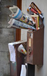 Übervoller-Briefkasten