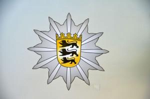 Polizeistern-B-W