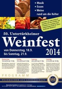 2014-Plakat Weinfest