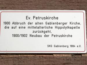 K-Petruskirche-Gab-Schild