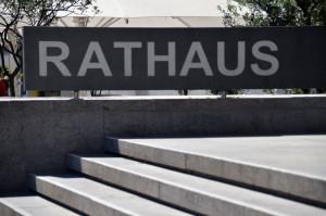K-Rathaus-Schild