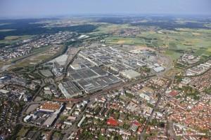 Luftbild Mercedes-Benz Sindelfingen