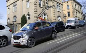 smart forrail Erprobungsfahrzeug (1. April)