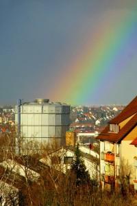 rur Gaskessel Regenb
