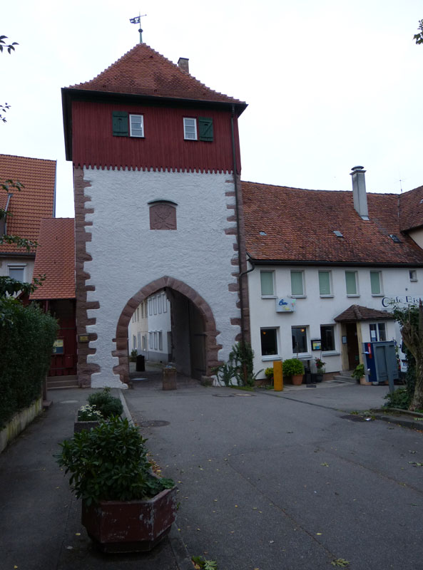 Gablenberger-Klaus-Blog » Blog Archive » Das Calwer Tor zu Weil der ...