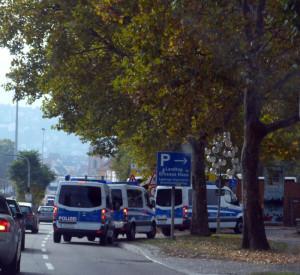 S-Aufmarsch-Polizei