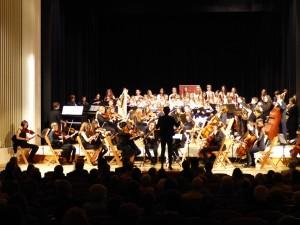 120 Kinder beim 1. Gastkonzert von Klassik im Kloster in Freudenstadt - Foto Klassik im Kloster