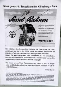 K-Schild-Sessel-Bahn