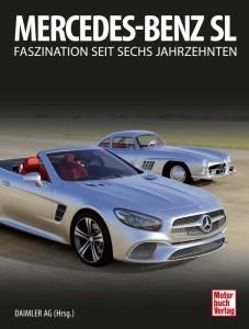 """Das Buch """"Mercedes-Benz SL – Faszination seit sechs Jahrzehnten"""", erschienen im November 2016, gibt mit faszinierenden Bildern und detaillierten Informationen aus den Archiven der Daimler AG einen umfassenden Überblick über sämtliche SL-Baureihen seit 1952. // With fascinating photos and detailed information from the archives of Daimler AG, the book """"Mercedes-Benz SL – Six Decades of Fascination"""", published in November 2016, provides a comprehensive overview of all SL model series since 1952."""