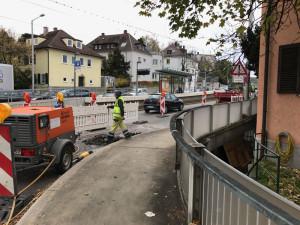 Pischekstrasse_Bauarbeiten