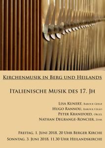 Konzert Berger
